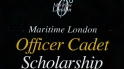 Maritime London Officer Cadet Scholarship Flyer