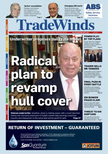 JLJ on Tradewinds Front page